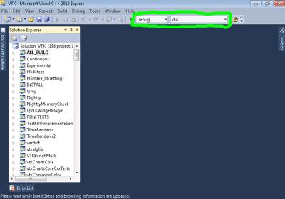 VTK/Configure and Build - KitwarePublic